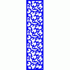 Cnc Panel Laser Cut Pattern File cn-l229 Free CDR Vectors Art