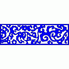Cnc Panel Laser Cut Pattern File cn-l227 Free CDR Vectors Art
