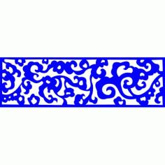 Cnc Panel Laser Cut Pattern File cn-l226 Free CDR Vectors Art