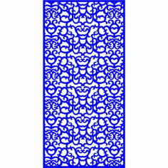 Cnc Panel Laser Cut Pattern File cn-l224 Free CDR Vectors Art