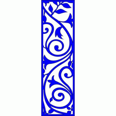 Cnc Panel Laser Cut Pattern File cn-l217 Free CDR Vectors Art