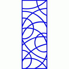 Cnc Panel Laser Cut Pattern File cn-l210 Free CDR Vectors Art