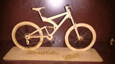 Bicycle 3d Puzzle Free CDR Vectors Art