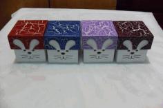 Caixa Coelho 15x15x10 Box Free CDR Vectors Art