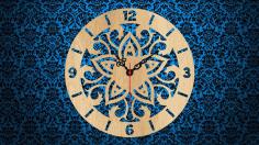 Fancy Clock Free CDR Vectors Art