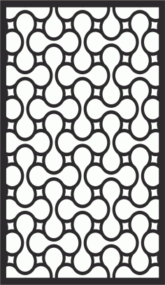Laser Cut Seamless Floral Pattern 223 Free CDR Vectors Art
