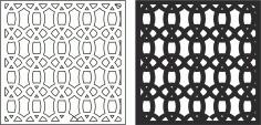 Laser Cut Seamless Floral Pattern 224 Free CDR Vectors Art