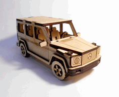 mercedes-benz g-class 3d Puzzle Wooden Free CDR Vectors Art