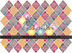 My Patchwork Pattern Free CDR Vectors Art