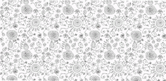 Nice Floral Background Free CDR Vectors Art