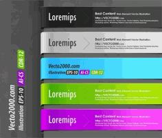 Web Element for Best Content Free CDR Vectors Art