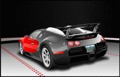 Bugatti Veyron Free CDR Vectors Art
