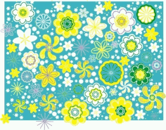 Flowers present Free CDR Vectors Art