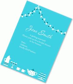 Bridal Invitation card Free CDR Vectors Art