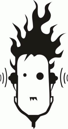 DJ music Free CDR Vectors Art
