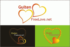 Gloten love logo Free CDR Vectors Art