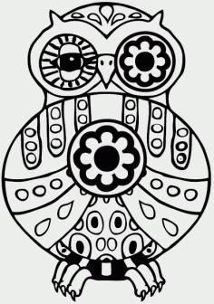 Owl Bird Free CDR Vectors Art