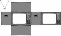 The nostalgic tv model expansion plan Free CDR Vectors Art