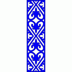 Cnc Panel Laser Cut Pattern File cn-l208 Free CDR Vectors Art