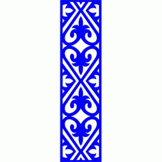 Cnc Panel Laser Cut Pattern File cn-l207 Free CDR Vectors Art