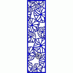 Cnc Panel Laser Cut Pattern File cn-l202 Free CDR Vectors Art
