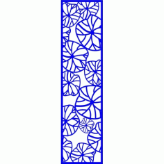 Cnc Panel Laser Cut Pattern File cn-l201 Free CDR Vectors Art