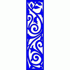 Cnc Panel Laser Cut Pattern File cn-l194 Free CDR Vectors Art