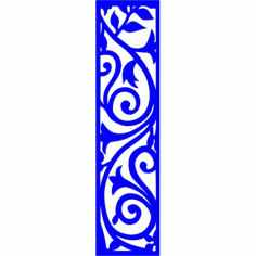 Cnc Panel Laser Cut Pattern File cn-l193 Free CDR Vectors Art