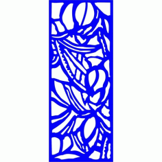 Cnc Panel Laser Cut Pattern File cn-l175 Free CDR Vectors Art