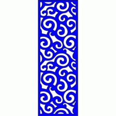 Cnc Panel Laser Cut Pattern File cn-l170 Free CDR Vectors Art