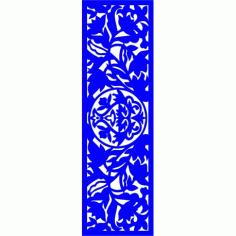 Cnc Panel Laser Cut Pattern File cn-l165 Free CDR Vectors Art