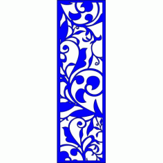 Cnc Panel Laser Cut Pattern File cn-l158 Free CDR Vectors Art