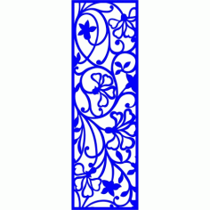 Cnc Panel Laser Cut Pattern File cn-l155 Free CDR Vectors Art