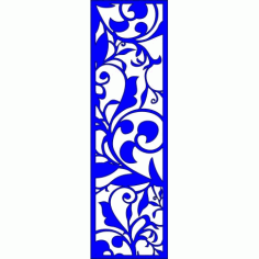 Cnc Panel Laser Cut Pattern File cn-l154 Free CDR Vectors Art