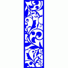 Cnc Panel Laser Cut Pattern File cn-l153 Free CDR Vectors Art