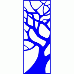 Cnc Panel Laser Cut Pattern File cn-l152 Free CDR Vectors Art