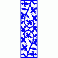 Cnc Panel Laser Cut Pattern File cn-l147 Free CDR Vectors Art