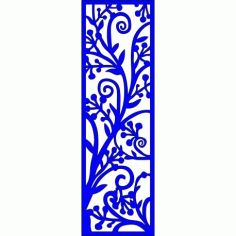Cnc Panel Laser Cut Pattern File cn-l142 Free CDR Vectors Art