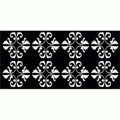 Cnc Panel Laser Cut Pattern File cn-l140 Free CDR Vectors Art