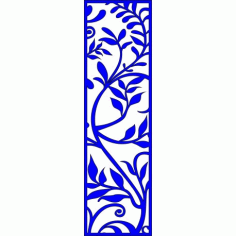 Cnc Panel Laser Cut Pattern File cn-l135 Free CDR Vectors Art
