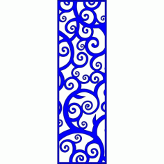 Cnc Panel Laser Cut Pattern File cn-l131 Free CDR Vectors Art