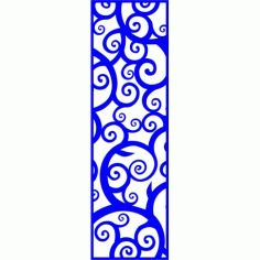 Cnc Panel Laser Cut Pattern File cn-l130 Free CDR Vectors Art