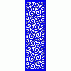 Cnc Panel Laser Cut Pattern File cn-l127 Free CDR Vectors Art