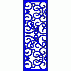 Cnc Panel Laser Cut Pattern File cn-l125 Free CDR Vectors Art
