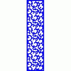 Cnc Panel Laser Cut Pattern File cn-l111 Free CDR Vectors Art