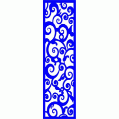Cnc Panel Laser Cut Pattern File cn-l101 Free CDR Vectors Art