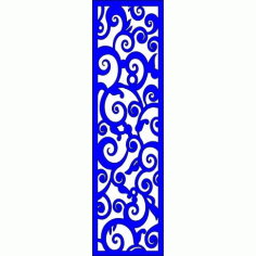 Cnc Panel Laser Cut Pattern File cn-l100 Free CDR Vectors Art