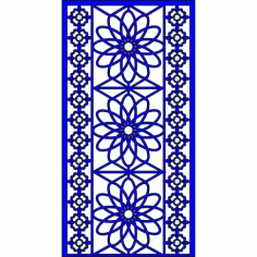 Cnc Panel Laser Cut Pattern File cn-l90 Free CDR Vectors Art