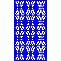 Cnc Panel Laser Cut Pattern File cn-l83 Free CDR Vectors Art