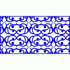 Cnc Panel Laser Cut Pattern File cn-l82 Free CDR Vectors Art